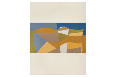 George Dannatt, 'Narrow Landscape No.6 Whitestone Cross', 1998