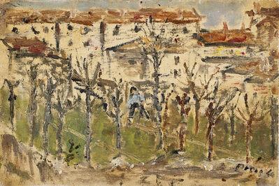 Filippo De Pisis, 'Veduta di città', 1940