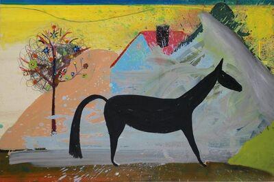 Matthias Dornfeld, 'Untitled (horse, house, tree...)', 2018