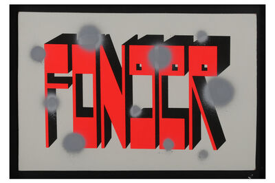 Barry McGee, 'Fonger'