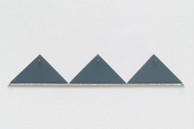 Hamish Fulton, '3 Small Mountains. Norway 2018', 2018