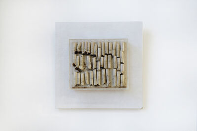 Ilse Getz, 'Cigarette Collage VII', 1965