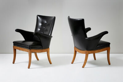 Frits Henningsen, 'Pair of Wing Chairs', 1932