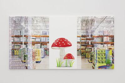 Julia Wachtel, 'SuperMushroom', 2020