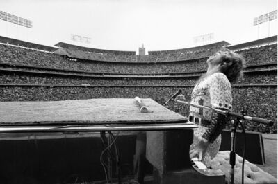 Terry O'Neill, 'Elton John Plays LA', 1975