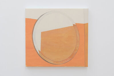 Roger White, 'Orange Mirror (Second Version)'