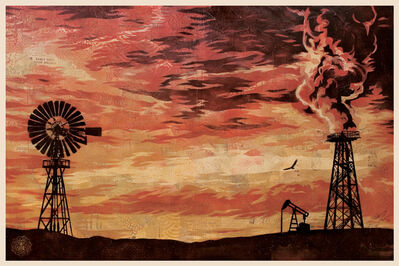 Shepard Fairey, 'Evolve Devolve - Offset', 2009