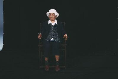 Hsieh Chun-Te, '〈103歲肖像-孫貴花〉'