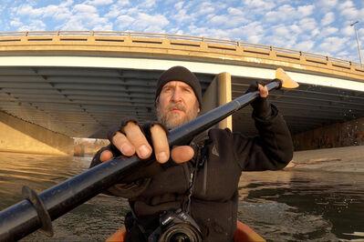 "Scott Hocking, 'Still image from ""Kayaking Through the Quarantimes""', 2021"