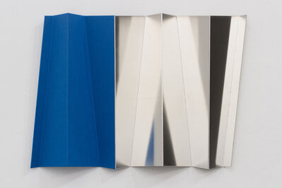 Andreas Fogarasi, 'Roof Study (Tent Monument blue)', 2015