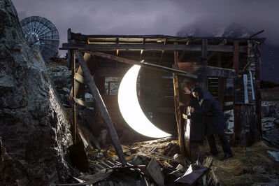 Leonid Tishkov, 'Private Moon in Tiang Shang observatory in Kazan', 2013