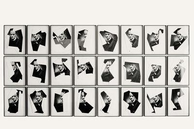 Mario Cresci, ' I rivolti, Charles Baudelaire', 2013
