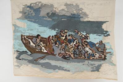 """Bertille Bak, 'Banner 7, from """"Le naufrage de Don Juan"""", Eugène Delacroix', 2013"""