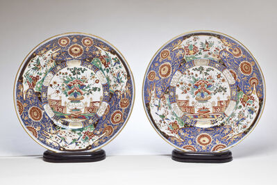 Warsaw (Belvedere), 'Pair of Imari dishes, a Royal Gift from the King of Poland to the Sultan of Turkey', ca. 1776