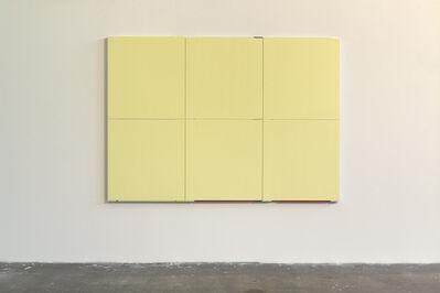 Imi Knoebel, 'Monochrome Gelb', 2004