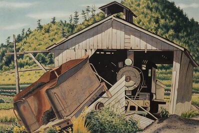 Clarence Holbrook Carter, 'Triplet Creek Special', 1932