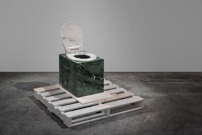 Alex Seton, 'The Sawdust Short Drop Throne', 2020