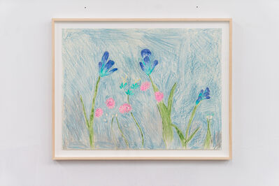 Emilie Gossiaux, 'Blue-tiful Garden', 2018