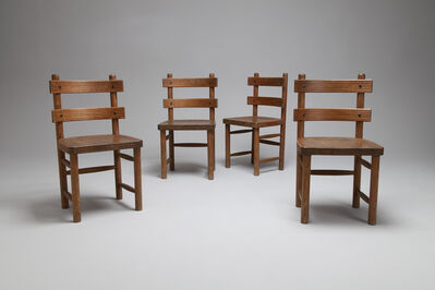 Axel Einar Hjorth, 'Set of Four 'Sandhamn' Chairs', 1932