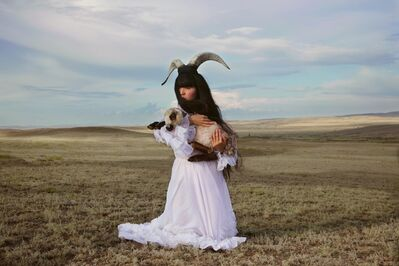 Almagul Menlibayeva, 'Madonna of the Great Steppe', 2009