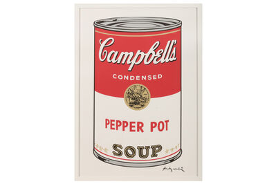 Andy Warhol, 'Campbell's Soup - Pepper Pot'