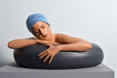 Carole A. Feuerman, 'Miniature Serena with Swarovski Cap Unique', 2017