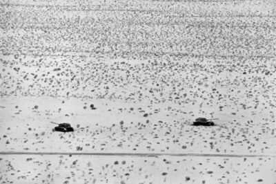 René Burri, 'Sinai Desert, Egyptian tanks', 1967