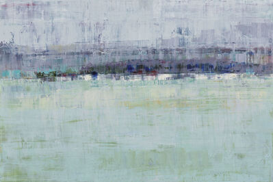 Suzy Barnard, 'Heather Gray & Celadon', 2016