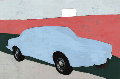 Koen Wastijn, 'Blue Car and the white house', 2020