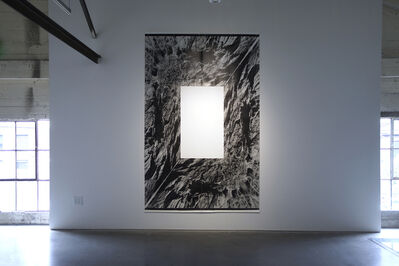 John Roloff, 'Landscape Projection (for and Unknown Window) No. 8 (cliff)', 2001