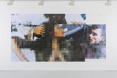 Thomas Hirschhorn, 'Pixel Collage no. 103', 2017