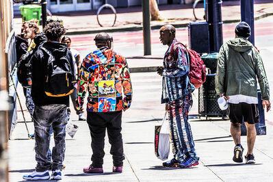 Mitchell Funk, 'Street Scene  with Directional Light, Tenderloin, San Francisco', 2019