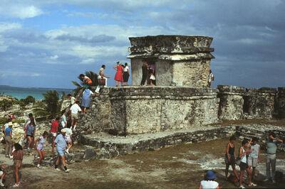 Leandro Katz, 'Templo del Dios Descendiendo, Tulúm (Temple of the Descending God Tulúm)', 1985