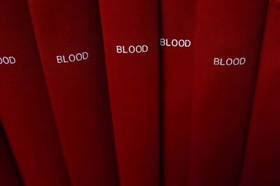 Mickey Smith, 'BLOOD', 2006