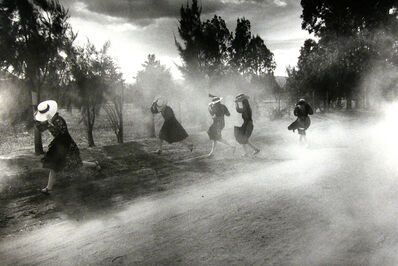 Larry Towell, 'Dust Storm, Durango Colony, Durango, Mexico', 1994