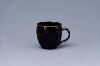 Yoshinori Hagiwara, 'Mug, black glaze', 2020