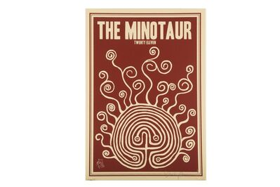 Stanley Donwood, 'The Minotaur Show Poster', 2011