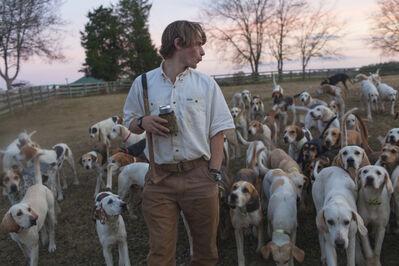 Matt Eich, 'Calling the dogs, Alabama', 2013
