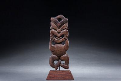 Oceanic Art, 'Maori Net Float, New Zealand, Ex. James Hooper Collection, Oceanic Art, Polynesian Art, Tribal Art, South Pacific', Mid 19th century