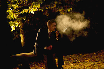 Alison Jackson, 'Obama Smoking', 2012
