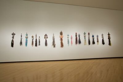 Jiha Moon, 'Norigae   (installation view)'