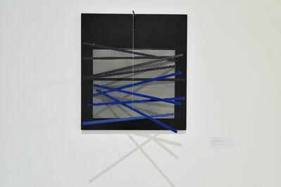 Jesús Rafael Soto, 'Petit Vibration Brique et Noire', 1966