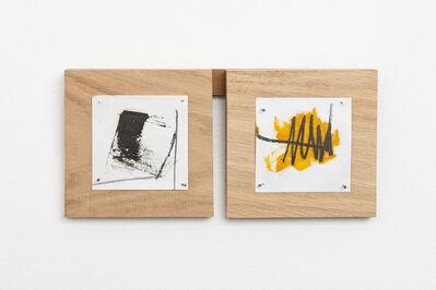 Richard Nonas, 'Untitled (Fieldnotes)', 2019