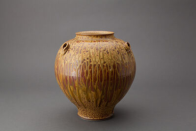 Brother Thomas Bezanson, 'Vase, elm ash glaze'