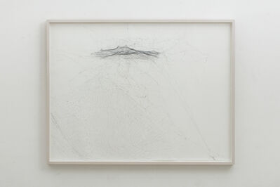 Tomás Saraceno, 'Semi-social solitary mapping of Arp 242 by a solo Cyrtophora citricola -one week and a solo Nephila senegalensis - one week', 2016