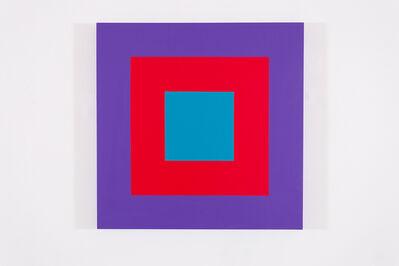 Claude Tousignant, 'Cible carrée #1', 2018