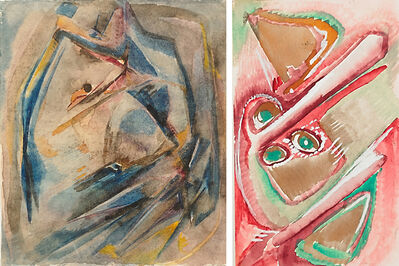 HILLA REBAY, 'Untitled', ca. 1920