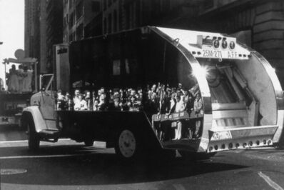 Mierle Laderman Ukeles, 'The Social Mirror (mirror covered Sanitation Truck', 1983