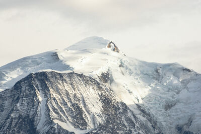 Renate Aller, 'PLATE 20, #105 s, France, Mont Blanc Massif, Nov 2017', 2017 -Printed 2018
