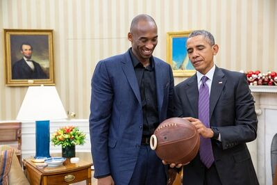 Pete Souza, 'Kobe Bryant and Barack Obama', 2015